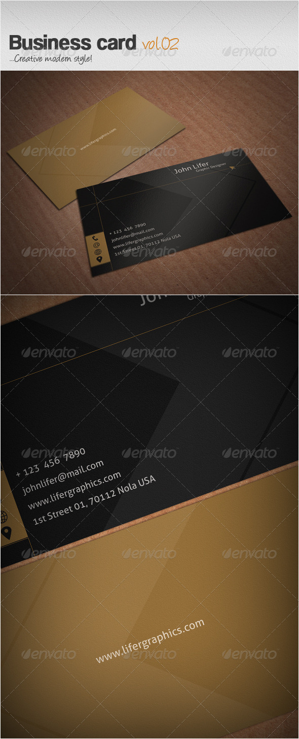 GraphicRiver Business Card Vol.02 3738966