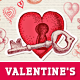 Romantic Valentine's Day Greeting Card - GraphicRiver Item for Sale