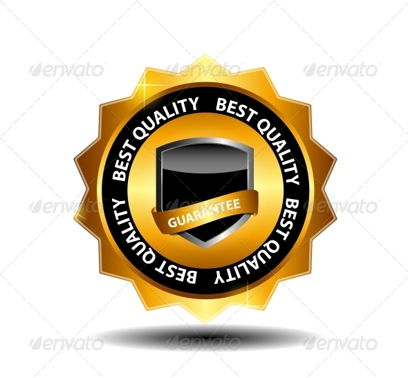 GraphicRiver Vector Best Quality Label 3887350