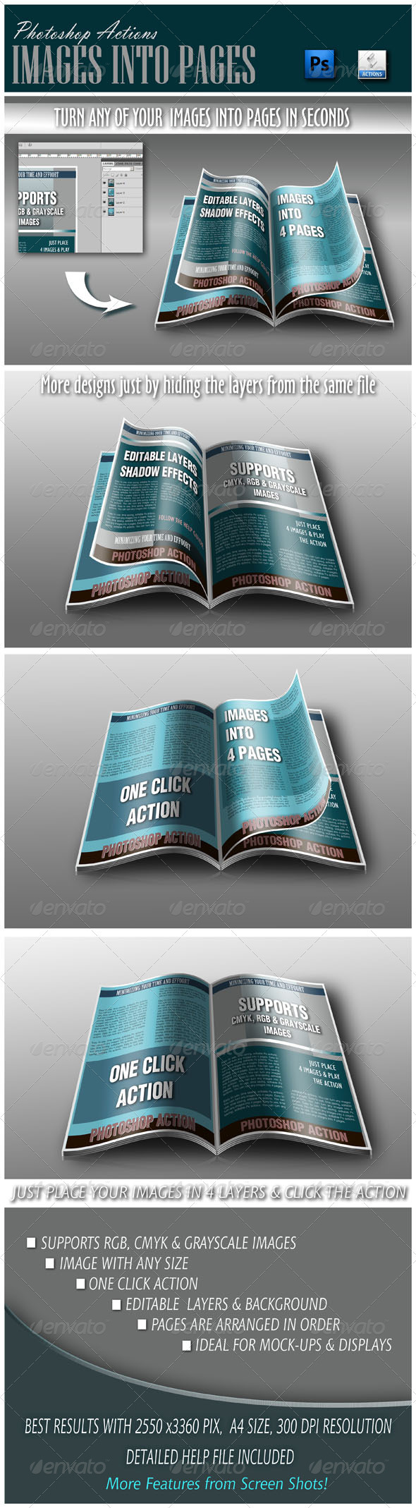 GraphicRiver Images Into 4 Pages 3728122