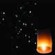 Paper Lantern With Fireworks - VideoHive Item for Sale