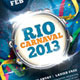 Carnaval 2013 Flyer Template - GraphicRiver Item for Sale