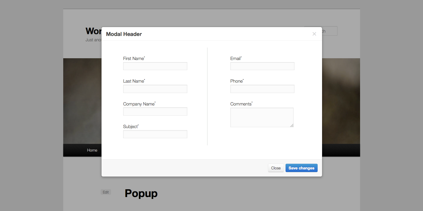 daisy fancy popup contact forms wpmeta