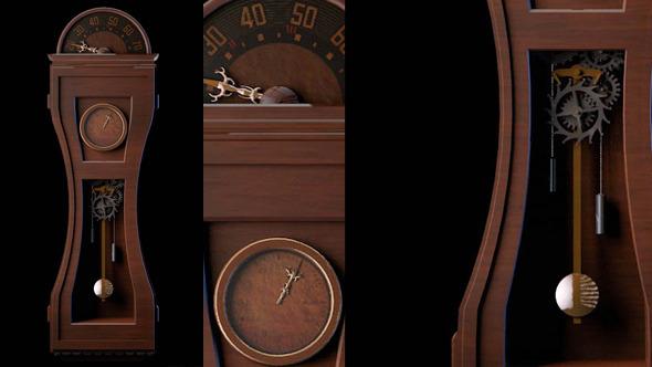 3DOcean Pendulum Clock Kit 3889914