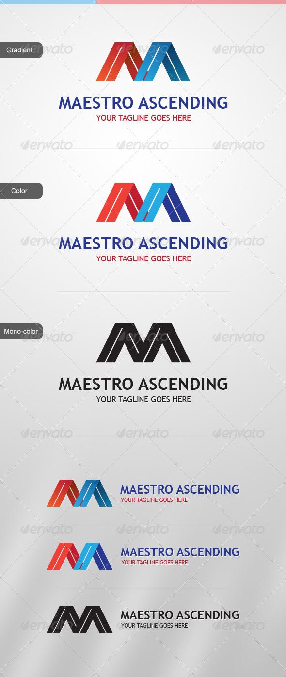 GraphicRiver Maestro Ascending Logo Template 3769004