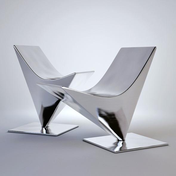 3DOcean 3D model of MDF italia lofty easy chair 3891947