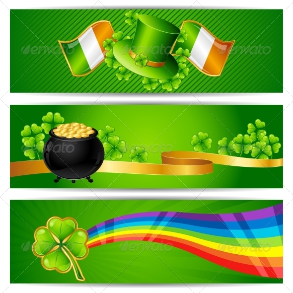 GraphicRiver Banners for Saint Patrick s day 3892478