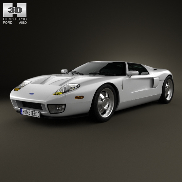 3DOcean Ford GT 2006 3892584