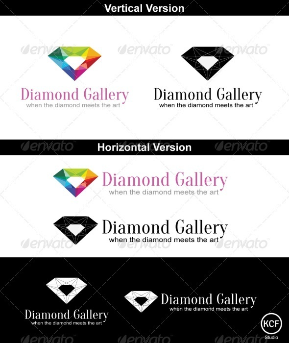 GraphicRiver Diamond Gallery Logo 3700826