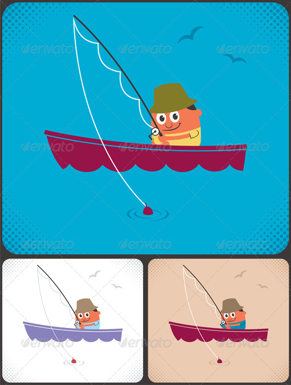 GraphicRiver Fishing 3768293