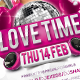 Love Time Party Flyer - GraphicRiver Item for Sale