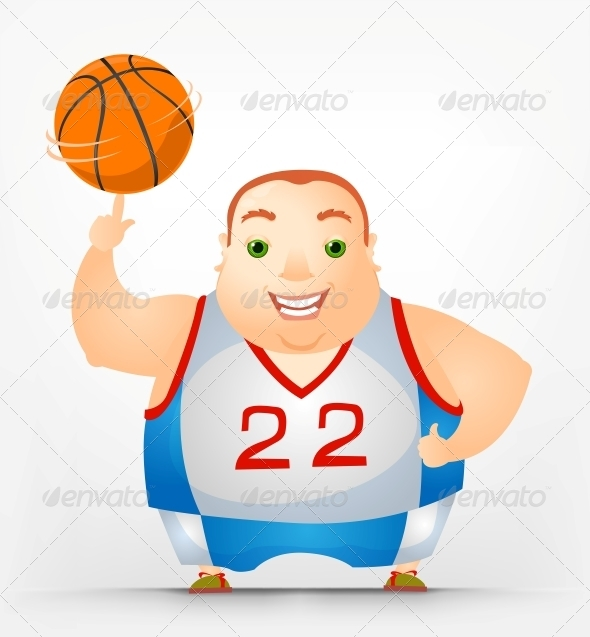 GraphicRiver Cheerful Chubby Man 3894051