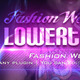 Fashion Weekend Lower Third - VideoHive Item for Sale