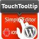TouchTooltip — WordPress plugin