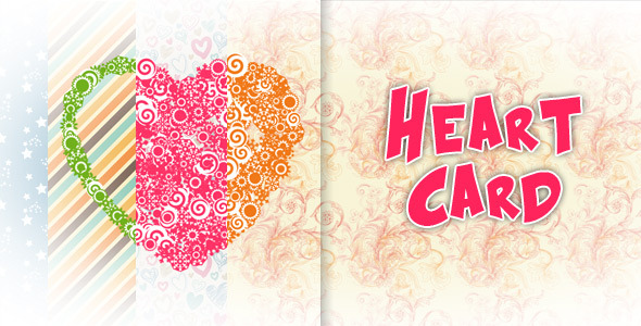 Heart Card - CodeCanyon Item for Sale