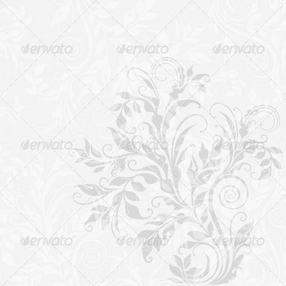 GraphicRiver EPS10 Decorative Floral Background 3897195