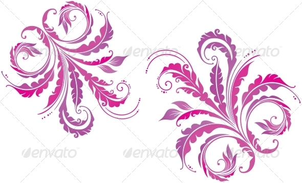 GraphicRiver Decorative Floral Background 3897196