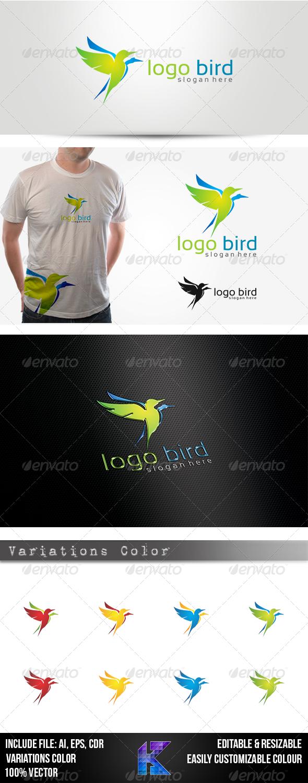 GraphicRiver Logo Bird 3898439