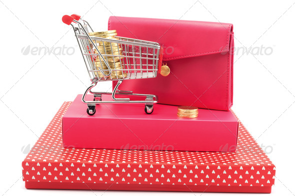 Gift conceptional objects - Stock Photo - Images