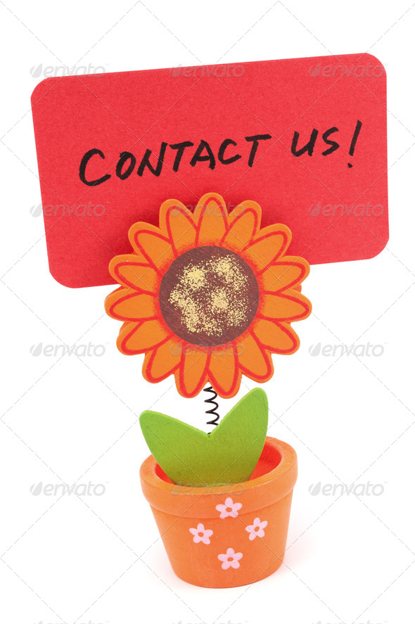 Contact us - Stock Photo - Images