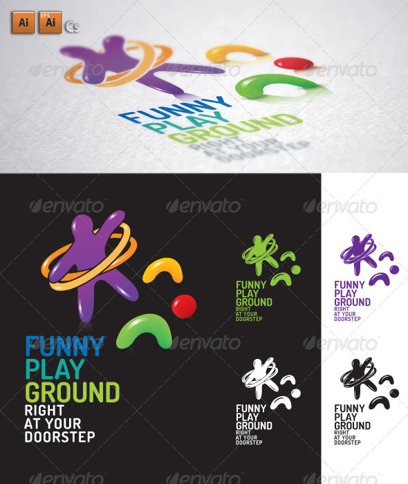 Playground - Humans Logo Templates