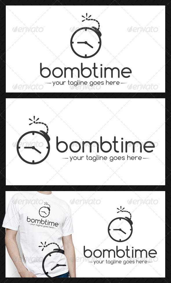 GraphicRiver Bomb Time Logo Template 3899554