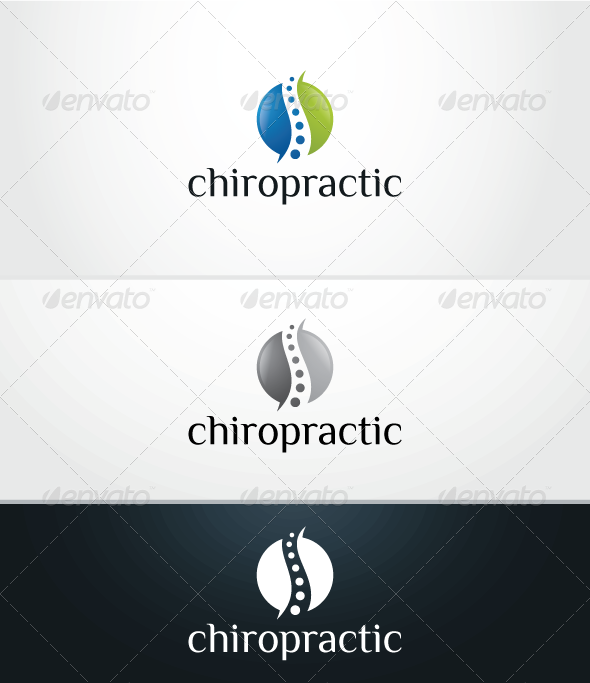 GraphicRiver Chiropractic V.2 Logo Template 3900324