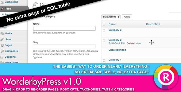 CodeCanyon WorderbyPress 3900525