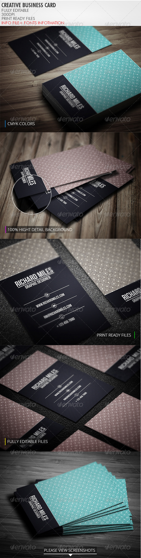 GraphicRiver Creative Business Card 3901129