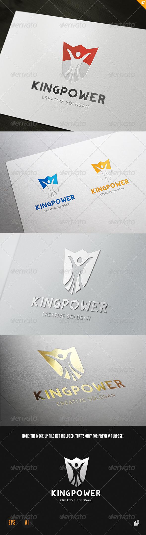 GraphicRiver King Power Logo 3902493