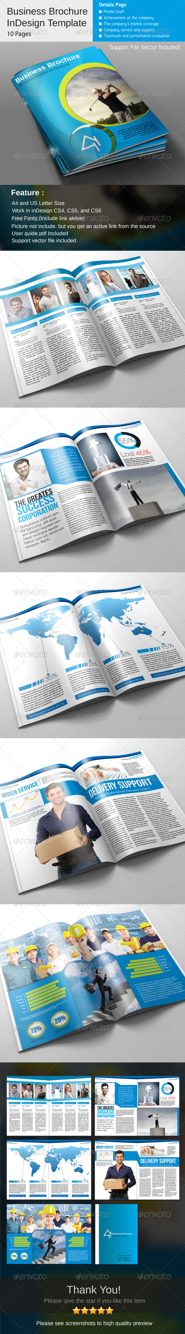 GraphicRiver Business Brochure 3902513