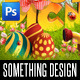 Easter Picnic Poster Print Template - GraphicRiver Item for Sale