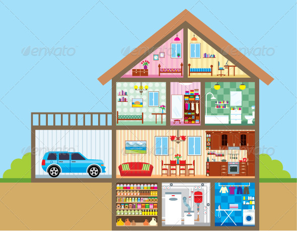 GraphicRiver House 3903143
