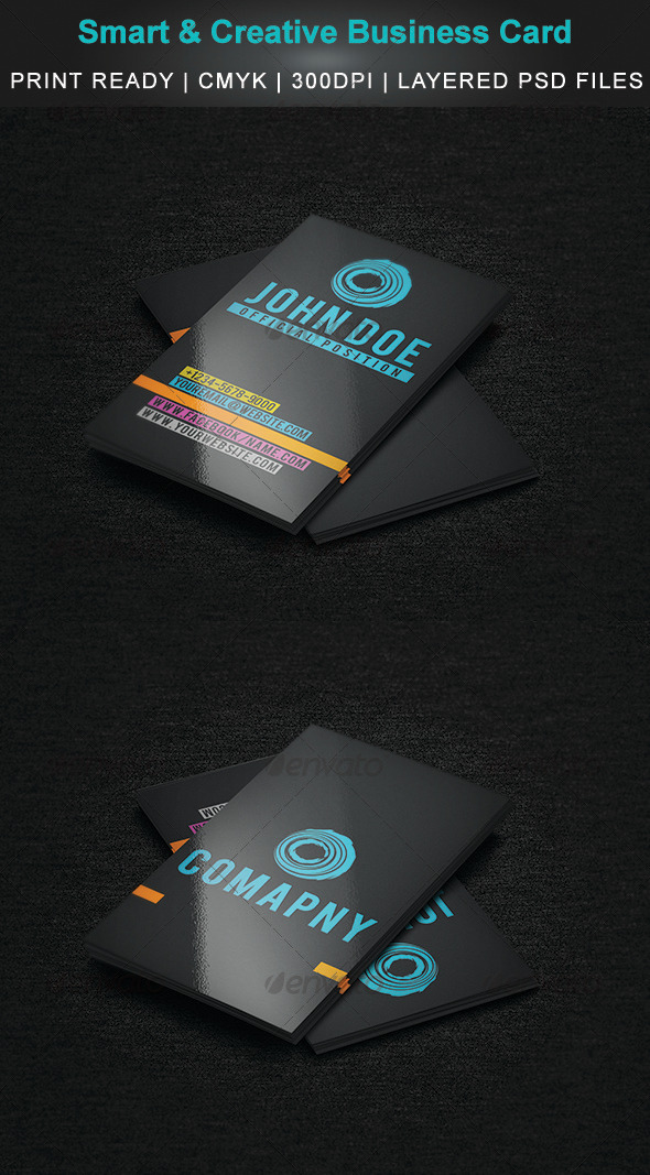GraphicRiver Smart & Creative Business Card 3825932