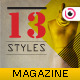 Fashion Style Magazine - GraphicRiver Item for Sale