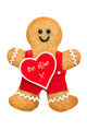 Valentine gingerbread man - PhotoDune Item for Sale