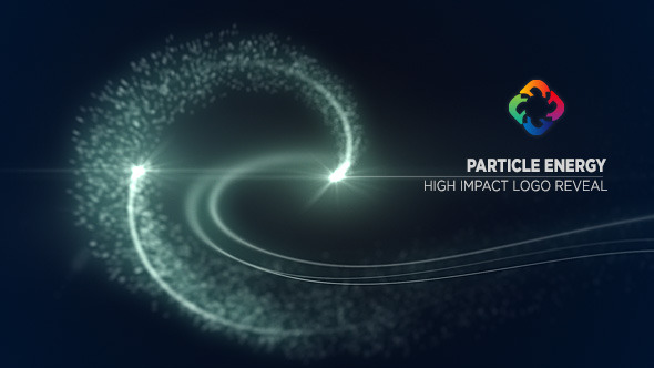 Particle Energy Logo Reveal