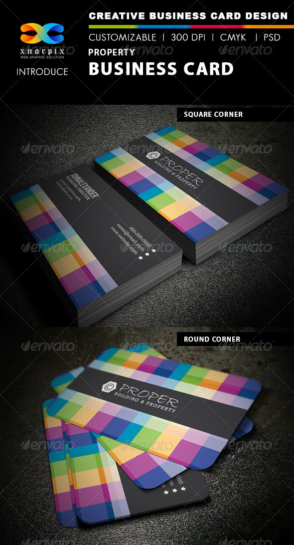 GraphicRiver Property Business Card 3905586