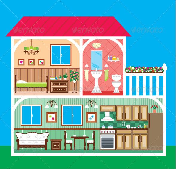 clipart inside house - photo #39