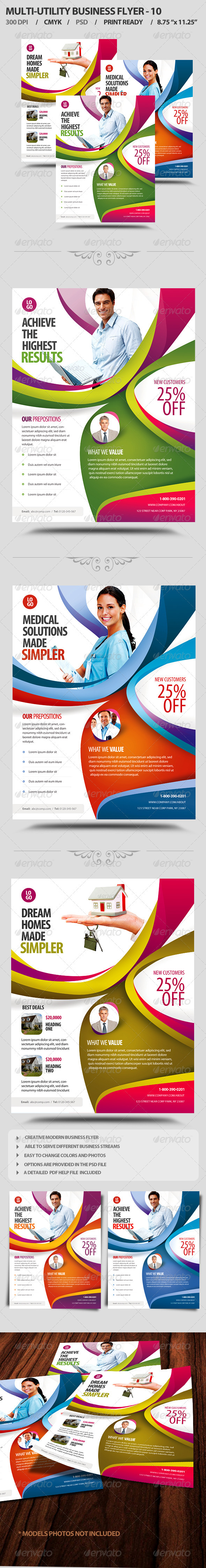 GraphicRiver Multi-Utility Business Flyer 10 3906338