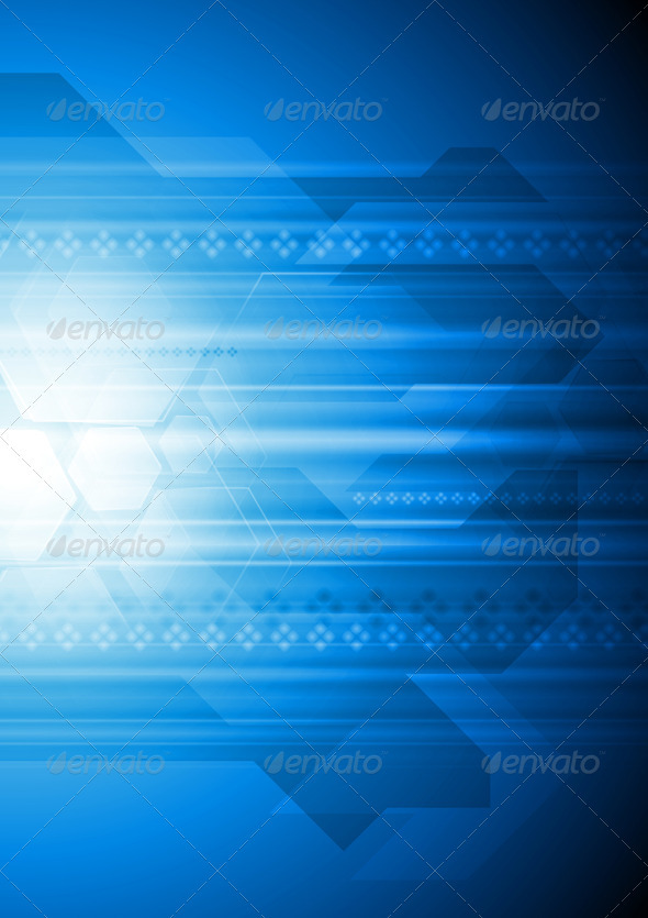 GraphicRiver Modern Vector Hi-Tech Backdrop 3906885