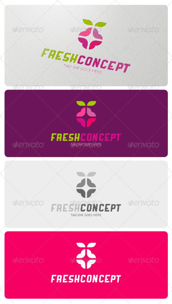 GraphicRiver Fresh Concept Logo Template 3907069