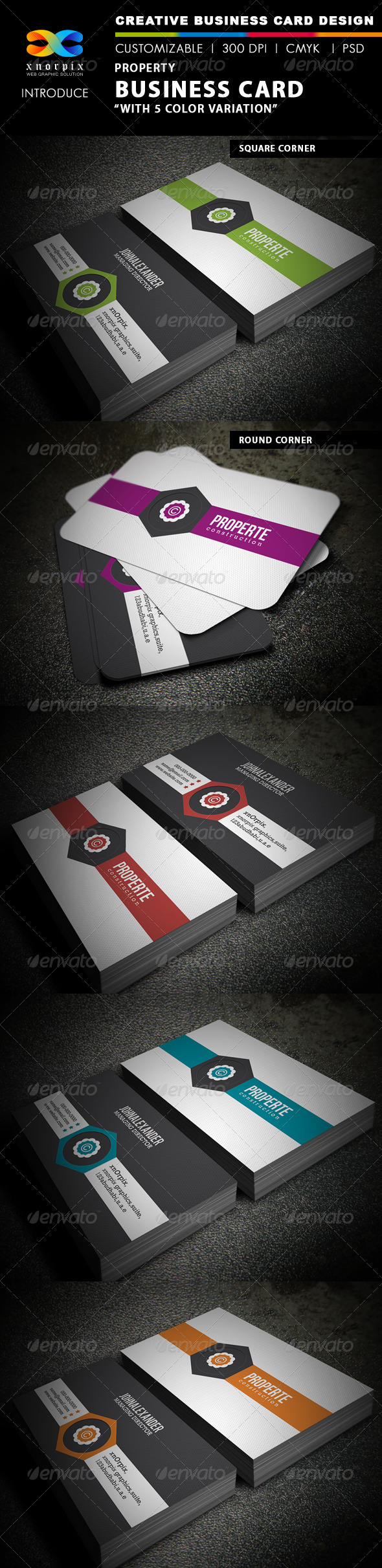 Property Business Card - Creative Business Cards