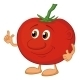 Download Vector Character Tomato