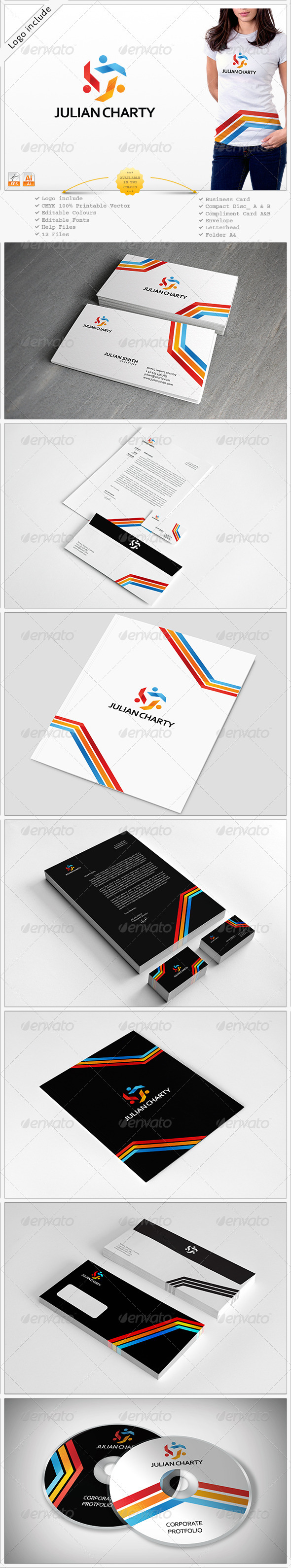 GraphicRiver Two in One Corporate Identity 3907526