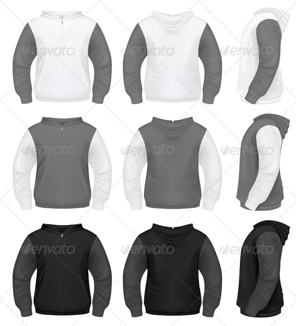 GraphicRiver Realistic Men s Sweater 3907991
