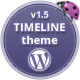Timeline WordPress Theme - ThemeForest Item for Sale