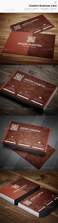 GraphicRiver Creative Business Card 13 3908015