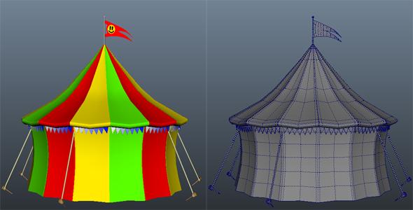 3DOcean Circus Tent 3908136