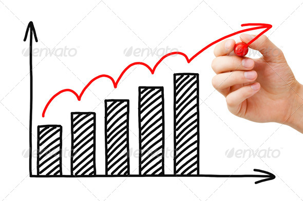 Business Growth Graph - Stock Photo - Images